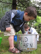 Opening of a Library Mud Kitchen
