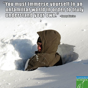 Immerse yourself!