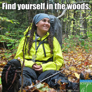 Find yourself in the woods
