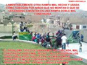 VENTANILLA - LIMA RAMPA MAL CONSTRUIDA