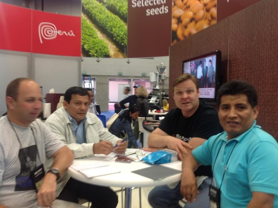 Reunión con nuestro principal cliente CAC Los Chankas