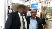 Fabian Zapata con Isidro Guerrero lider productores de cafe y cacao en Piura
