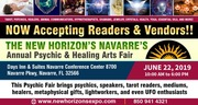 The New Horizon's Navarre's Annual Psychic and Healing Arts Fair