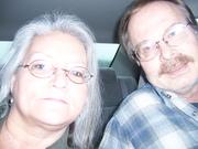 ME & ROBERT,@ THE GOLD STRIKE CASINO, WELL, WE TRIED!!! NOV., 2008