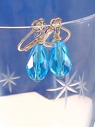Aquamarine Dangle