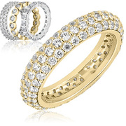 The Wedding Band Company offer Eternity wedding bands