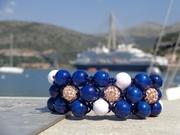 Shamballa bracelets inspired by the Adriatic Sea