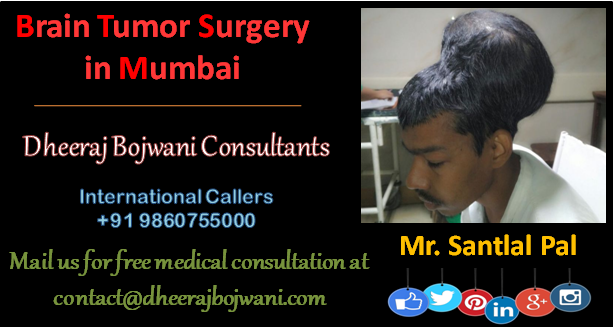Brain Tumor Surgery in Mumbai; seven hours of Brain tumor removal surgery, a tough recovery time for the patient