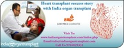 Mr. Fariji Clark From Africa Narrates her Heart transplant success story with India organ transplant