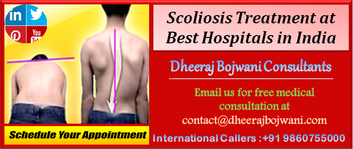 Mozambique patients flocking to Best Hospitals in India for Scoliosis Treatment