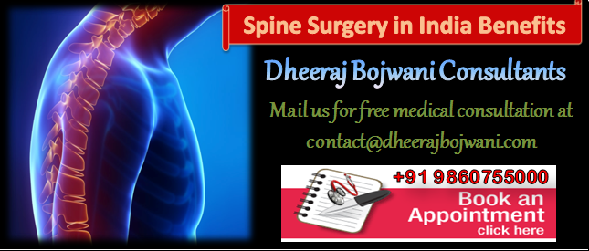 Spine surgery in India with huge benefits