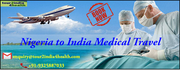 Nigeria to India Medical Travel at Affordable Price