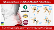 Hip Replacement Surgery in India the Best Solution to Fix Your Hip Issues
