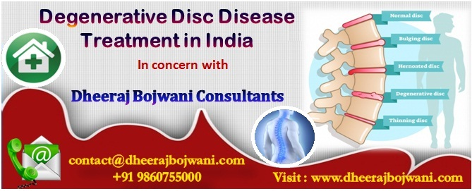 Finest and Cost effective Degenerative Disc Disease Treatment possible in India