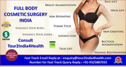 Plan Your Cosmetic Surgery in India To Get Maximum Benefits And A Rewarding Treatment Experience