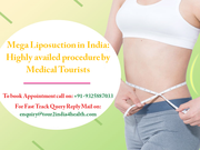 Mega Liposuction in India - Highly availed procedure by Medical Tourists