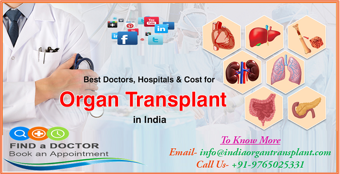 Organ Transplant Cost in India making treatment in India most Lucrative