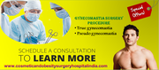 Get Affordable Gynecomastia surgery procedure in India