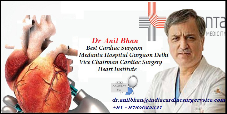 Dr. Anil Bhan Top Cardiovascular Surgeon in Gurugram
