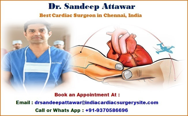 Dr Sandeep Attawar Best Cardiac Surgeon Global Hospital Chennai