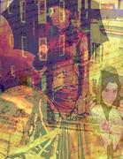 16- Deja-vu- 8.5 x 11- Photoshop collage (Small)