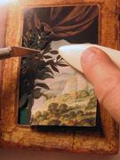 Demonstration of puzzle-piece collage technique (After Michael Oatman)