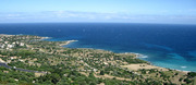 Blick auf den Küstenbereich