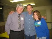 Bobby Baron, Jerry Whittington and daughter Jerri Burris