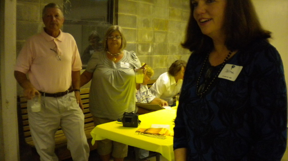 Kathy and Richard McIntosh, Zelma