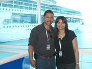 Mr Victor JR. and Ms Carolina