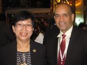 Madan Jane Yau and Mr Madera