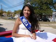 Samantha Salvador, MECA Princess in the Veteran's Day Parade