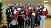 MECCA fiddlers and Cloggers at LCPSC Market Day