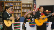 MECATX musicians play for Diea y Seis program