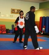 Kumite Practice in Conn