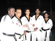 Awarding Sports Award to Kashif