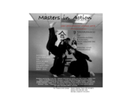 Masters in Action Flyer 3