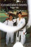 KAMAL AMANI IN WORLD ITF TAEKWON-DO CHAMPIONSHIP 1996.