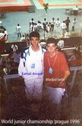 KAMAL AMANI IN WORLD ITF TAEKWON-DO CHAMPIONSHIP 1996