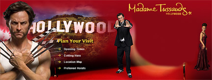 Madame Tussauds Wax Museum Hollywood