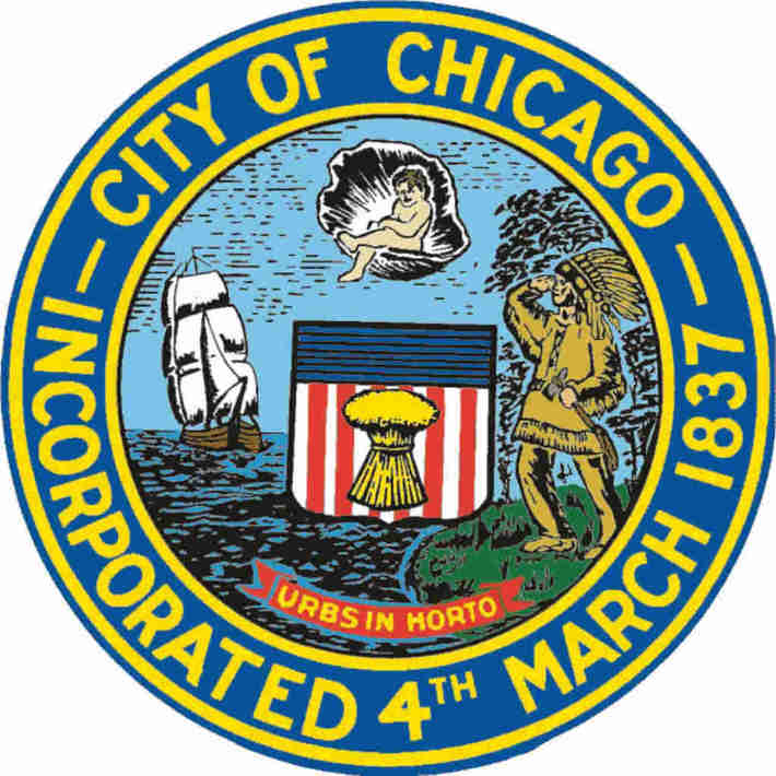 Chicago city seal ~ STOP THE  KILLING !!!!!!!!!