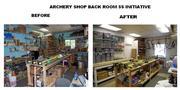 TePee Archery Back Room