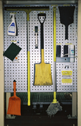 Cleaning Supplies Station
