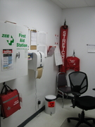 First Aid room