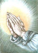 Imádkozó kéz