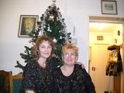 Éva barátnőmmel 2009 szentestéjén