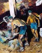 Kádgyári munkások
