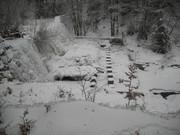 """2011 februári """"FODROS """" vízesés Vármezőn"""