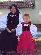Nagymama és unokája