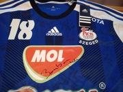 Ilyés Feci meze a MOL-Pick Szeged játékosainak aláírásaival